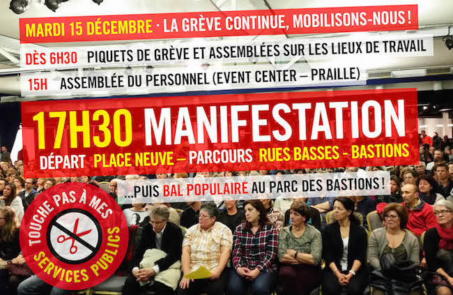 Annonce manif
