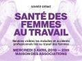 03.04.2019: Santé des femmes au travail ·20h ·Maison des A...